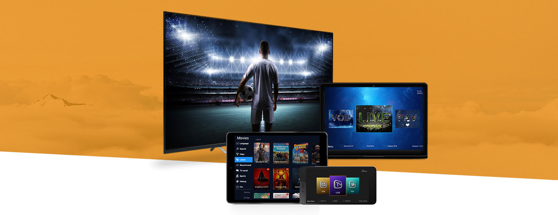 Buy IPTV Service from AirTV, the world best IPTV provider